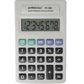 Calculadora de Bolso 8 Dígitos Cinza PC082 1 UN Procalc