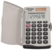 Calculadora de Bolso 8 Dígitos com Capa Protetora Bege MXC80 1 UN Maxprint