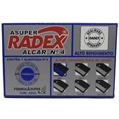 Almofada para Carimbo n°4 com Tinta Azul 1 UN Radex
