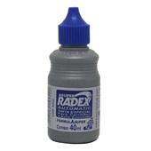 Tinta para Carimbo Auto Entintado Azul 40ml 1 UN Radex