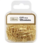 Clips Dourado 28mm CX 120 UN Tilibra