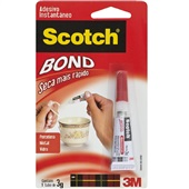 Cola Instantânea Scotch Bond 3g 1 UN 3M