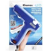 Pistola para Cola Quente Grossa Azul K600S 1 UN Rhamos e Brito