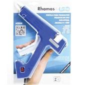 Pistola para Cola Quente Grossa Azul K1000 1 UN Rhamos e Brito