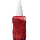 Cola Colorida com Gliter Vermelho 25g 6 UN Maripel