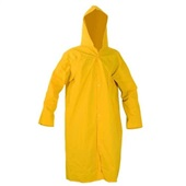 Capa de Chuva PVC Forrada em Poliéster G Amarelo CA 28191 1 UN Maicol