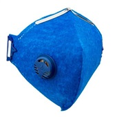 Máscara Descartável PFF1 com Válvula Azul CA 38501 1 UN Delta Plus