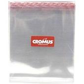 Saco Adesivo Transparente 8,5x25cm Aba 3cm PT 100 UN Cromus