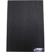 Capa para Encadernação PVC Carta Preto 216x279mm PT 1 UN Assismaq
