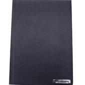 Capa para Encadernação PVC A4 Azul Marinho 210x297mm 1 UN Assismaq
