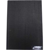 Capa para Encadernação PVC A4 Preto 210x297mm PT 100 UN Assismaq