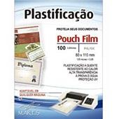Plástico para Plastificação 0,05 RG 80x110mm PT 100 UN Mares