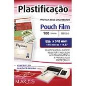 Plástico para Plastificação 0,07 Ofício 226x340mm PT 100 UN Mares
