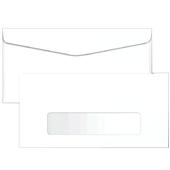 Envelope Comercial Ofício com Visor Branco 75g 114x229mm 1 UN Foroni