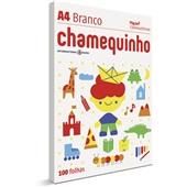 Papel Sulfite Chamequinho Branco 75gr A4 21x29,7cm 100 FL Chamex