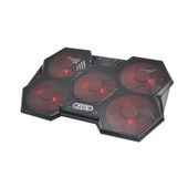 Cooler Gamer Warrior Lothaire com LED AC327 1 UN Multilaser