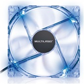 Cooler Fan com LED Azul GA135 1 UN Multilaser