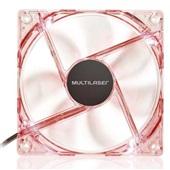 Cooler Fan com LED Vermelho GA136 1 UN Multilaser