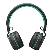 Headphone com Bluetooth Fun Preto e Verde PH215 1 UN Pulse