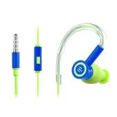 Fone de Ouvido Earhook Silicone Azul e Verde PH223 1 UN Pulse