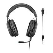 Headset Gamer Warrior Volker Som Digital 7.1 LED Preto PH258 1 UN Multilaser