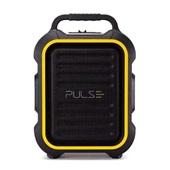 Caixa de Som Multiuso Bluetooth FM Auxiliar SD USB Microfone Preto SP295 1 UN Pulse