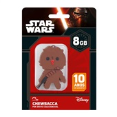 Pen Drive Star Wars Chewbacca 8GB PD041 1 UN Multilaser