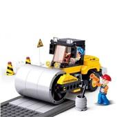 Blocos Construção Rolo Compressor 171 Peças BR828 1 UN Multikids