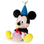 Pelúcia Happy Birthday Mickey BR375 1 UN Multikids