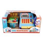 Caixa Registradora Creative Fun Azul BR386 1 UN Multikids
