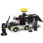 Blocos Policia Carro de Comando 206 Peças BR835 1 UN Multikids