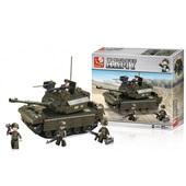 Blocos Land Forces Tanque 312 Peças BR908 1 UN Multikids