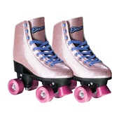 Patins Rollers 4 You Quad com Glitter n°37 Rosa BR926 1 UN Multikids