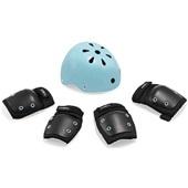 Kit de Proteção Infantil Preto e Azul ES183 1 UN Atrio