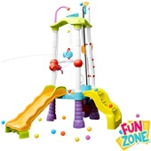 Escorregador Fun Zone Torre Tumblin 1 UN Little Tikes