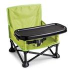 Cadeira de Alimentação Dobrável Verde 1 UN Summer