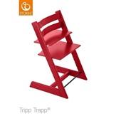 Cadeira de Crescimento Tripp Trapp Tamanho Ajustável Vermelho 1 UN Stokke criança bebê