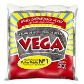 Palha de Aço Número 1 Média 25g PT 20 UN Vega Steel