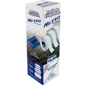 Refil Etiquetadora de Preços 26x16mm Branco CX 8 UN Metiq