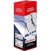 Refil Etiquetadora Térmica para Balança 60x40mm Branco CX 4 UN Metiq