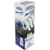Refil Etiquetadora de Preços 26x12mm Branco CX 8 UN Metiq