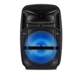 Caixa de Som Amplificadora Ativa 80W Bluetooth FM com LED SP293 Multilaser