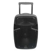 Caixa de Som Ativa Bluetooth FM Microfone 250W Preto SP297 Multilaser