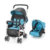 Carrinho de Bebê Flip Travel System Azul BB619 1 UN Multikids Baby