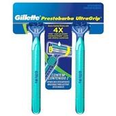 Aparelho de Barbear Prestobarba Ultragrip Move 2 UN Gillette