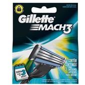 Lâminas de Barbear Mach3 3 UN Gillette
