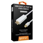 Cabo Mini Display Port para HDMI 1,8m 1 UN Geonav