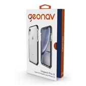 Capa Impact Pro X iPhone XR Preto 1 UN Geonav
