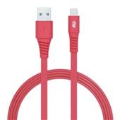 Cabo Lightning iPhone 5 e 6 1,2m Vermelho 1 UN i2GO