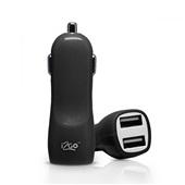 Carregador Automotivo 2 Saídas USB 2,4Amps Preto 1 UN i2GO